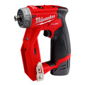 Factory Reconditioned Milwaukee 2505-82 M12 FUEL Brushless Lithium-Ion 3/8 in. Cordless Installation Drill Driver Kit (2 Ah) image number 1