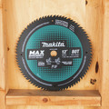 Makita B-66999 12 in. 80T Carbide-Tipped Max Efficiency Miter Saw Blade image number 5