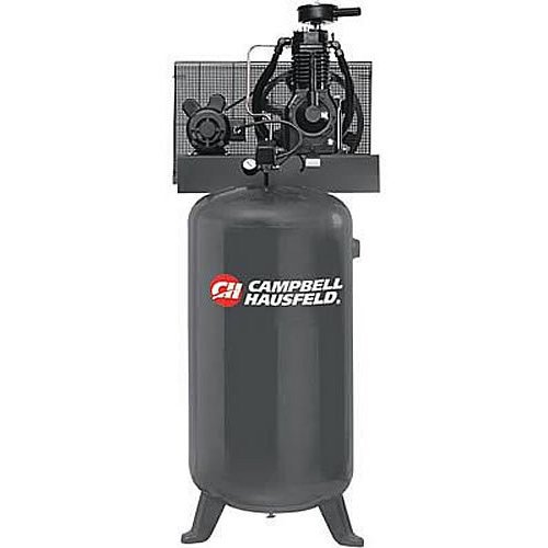 Campbell Hausfeld CE6000 5.0 HP Two-Stage 80 Gallon Oil-Lube Stationary Vertical Air Compressor