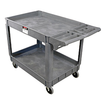JET PUC-3725 37-3/8 in. x 25-5/8 in. PUC Series Heavy-Duty Resin Service Cart