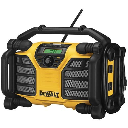 Factory Reconditioned Dewalt DCR015R 12V/20V MAX Cordless Worksite Radio and Charger