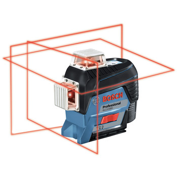 Bosch GLL3-330C 360-Degrees Connected Three-Plane Leveling and Alignment-Line Laser