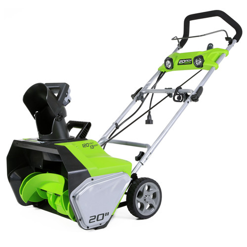 Greenworks 2600202 13 Amp 20 in. Electric Snow Blower image number 0