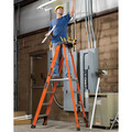 Louisville FXP1804HD 4 ft. Type IAA Duty Rating 375 lbs. Load Capacity Fiberglass Platform Step Ladder image number 1