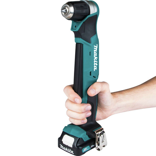Makita AD04R1 12V max CXT Lithium-Ion 3/8 in. Cordless Right Angle Drill Kit (2 Ah) image number 6
