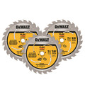 Dewalt DWAFV37243 7-1/4 in. Circular Saw Blade 3-Pack