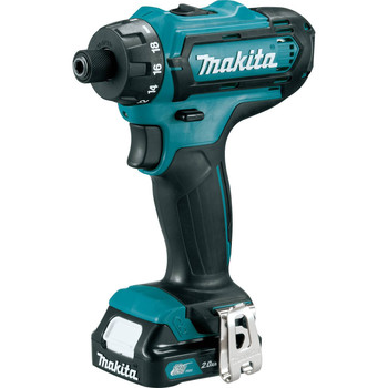 Makita FD06R1 12V max CXT Lithium-Ion Hex 1/4 in. Cordless Drill Driver Kit (2 Ah) image number 1