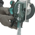 Makita XSC04Z 18V LXT Lithium-Ion Brushless Cordless 5-7/8 in. Metal Cutting Saw with Electric Brake and Chip Collector (Tool Only) image number 7