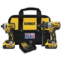 Dewalt DCK299M2 20V MAX XR 4.0 Ah Cordless Lithium-Ion Brushless Hammer Drill and Impact Driver Combo Kit