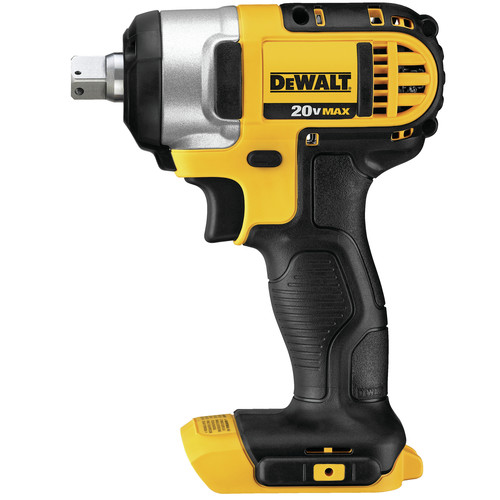 Dewalt DCF880B 20V MAX Cordless Lithium-Ion 1/2 in. Impact Wrench with Detent Pin Anvil (Tool Only) image number 0