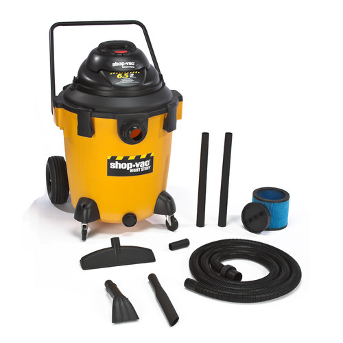 Shop-Vac 9626810 32 Gallon 6.5 Peak HP Right Stuff Dolly Style Wet/Dry Vacuum