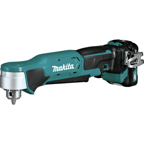 Makita AD03R1 12V max CXT Lithium-Ion 3/8 in. Cordless Right Angle Drill Kit (2 Ah) image number 1