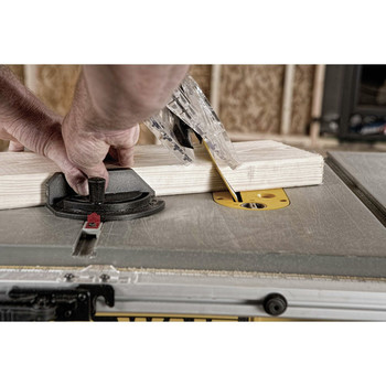 Dewalt DWE7491RS 10 in. 15 Amp  Site-Pro Compact Jobsite Table Saw with Rolling Stand image number 18