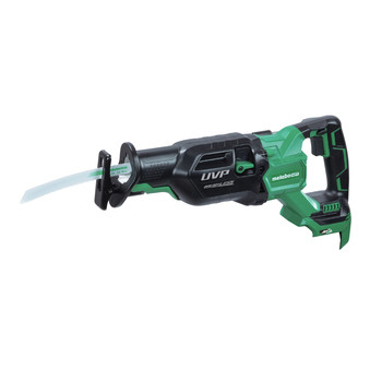 Factory Reconditioned Metabo HPT CR36DAQ4M MultiVolt 36V Brushless 1-1/4 in. Cordless Reciprocating Saw with Orbital Action (Tool Only)
