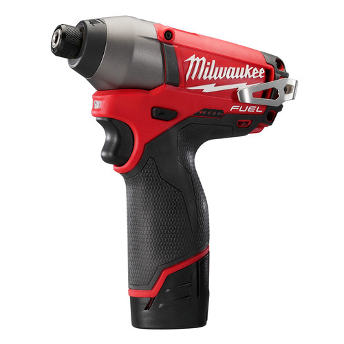 Factory Reconditioned Milwaukee 2453-82 M12 FUEL 12V Cordless Lithium-Ion 1/4 in. Hex Impact Driver