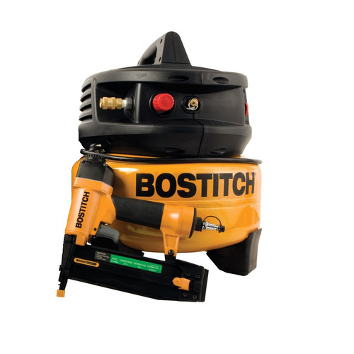 Factory Reconditioned Bostitch U/CPACK1850BN 2 in. Brad Nailer & Compressor Combo Kit