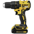 Factory Reconditioned Dewalt DCK277C2R 20V MAX 1.5 Ah Cordless Lithium-Ion Compact Brushless Drill and Impact Driver Combo Kit image number 2