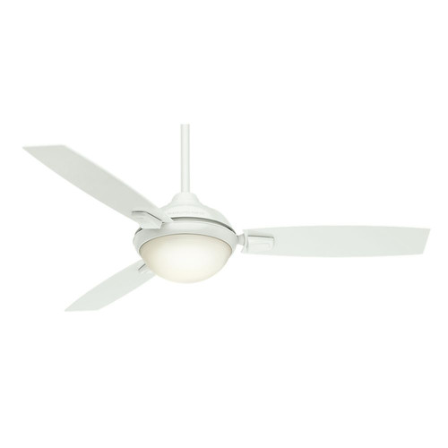 Casablanca 59158 54 in. Verse Fresh White Ceiling Fan with Light and Remote