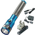 Streamlight 75613 Stinger LED Rechargeable Flashlight with PiggyBack Charger (Blue)