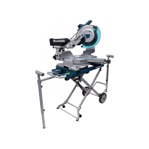 Makita LS1016LX5 10 in. Dual Slide Compound Miter Saw with Laser and Stand