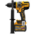 Dewalt DCD999T1 20V MAX Brushless Lithium-Ion 1/2 in. Cordless Hammer Drill Driver Kit with FLEXVOLT ADVANTAGE (6 Ah) image number 2