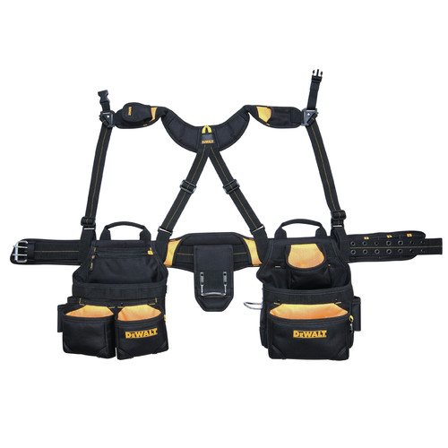 Dewalt DG5617 20-Pocket Pro Framer's Combo Apron and Yoke Style Suspenders image number 0