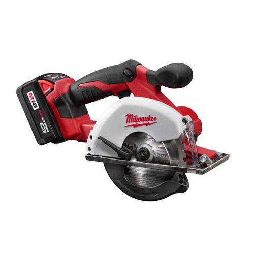 Milwaukee 2682-22 M18 18V Cordless Lithium-Ion 5-3/8 in. Metal Saw Kit