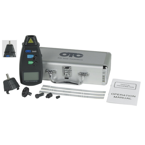 OTC Tools & Equipment 3665 Phototach (Contact/Non-Contact) image number 0
