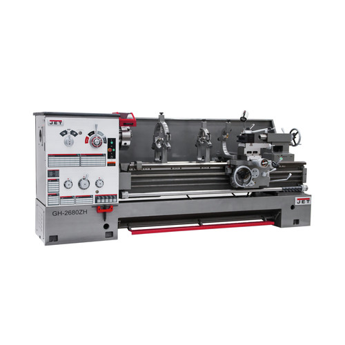JET GH-2680ZH GH-2680ZH 4-1/8 in. Lathe with ACU-RITE 200S DRO image number 0