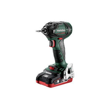 Metabo 602396520 SSD 18 LTX 200 18V 1/4 in. Hex Brushless Impact Wrench kit with 4.0Ah LiHD Batteries image number 2