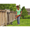 Black & Decker LST201 20V MAX 1.5 Ah Cordless Lithium-Ion 10 in. String Trimmer/Edger image number 1