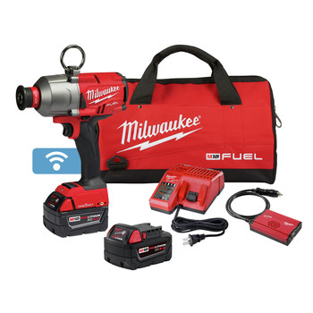 Milwaukee 2865-22 M18 FUEL 7/16 in. Hex Utility High-Torque Impact Wrench with ONE-KEY Kit