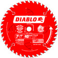 Diablo D0740X 7-1/4 in. 40 Tooth Finishing Saw Blade