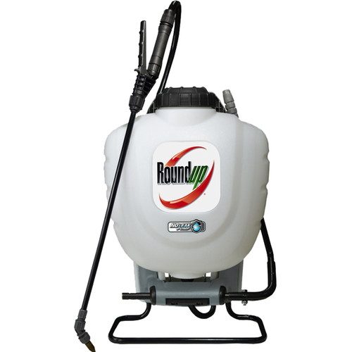 Roundup 190327 4 Gallon No-Leak Backpack Sprayer