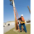 Louisville FE3224 24 ft. Type IA Duty Rating 300 lbs. Load Capacity Fiberglass Extension Ladder image number 2