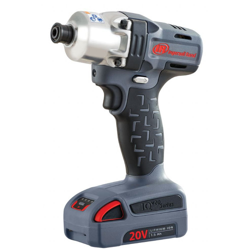 Ingersoll Rand W5110-K2 1/4 in. Quick Change Hex Drive 20V Mid-torque Impactool, 2Battery Kit