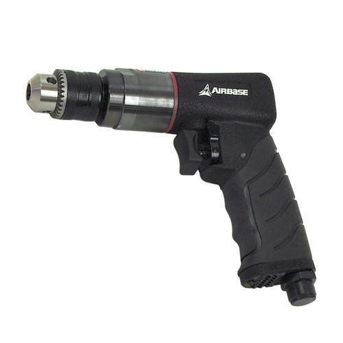 AirBase EATDR03S1P Industrial 3/8 in. 6.1 CFM Reversible Air Drill image number 0