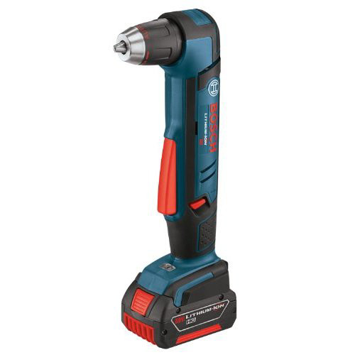 Bosch ADS181-102 18V Cordless Lithium-Ion 1/2 in. Right Angle Drill Driver with HC Slimpack Battery