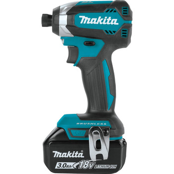 Makita XDT131 18V LXT 3.0 Ah Cordless Lithium-Ion Brushless Impact Driver Kit image number 2