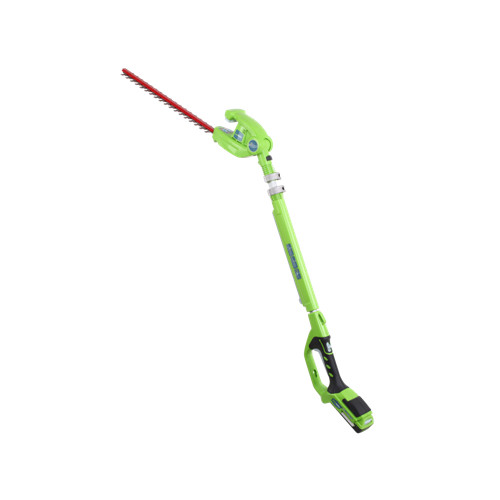 Greenworks 22242 G 24 24V Cordless Lithium-Ion 18 in. XR Dual Action Hedge Trimmer