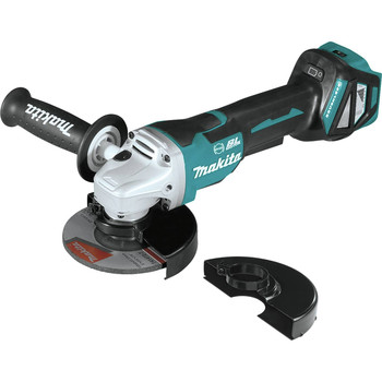 Makita XAG20Z 18V LXT Lithium-Ion Brushless Cordless 4-1/2 in. or 5 in. Paddle Switch Cut-Off/Angle Grinder with Electric Brake (Tool Only)