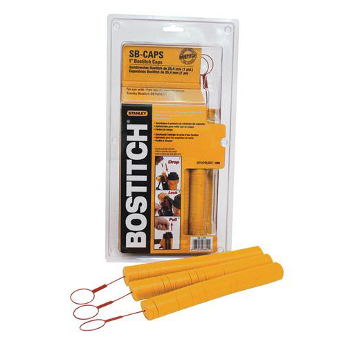 Bostitch SB-CAPS 1 in. Caps (1,000-Pack)