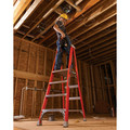 Louisville FXP1704 4 ft. Type IA Duty Rating 300 lbs. Load Capacity Fiberglass Platform Step Ladder image number 2