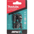 Makita A-97673 Makita ImpactX 3 Piece 2 in. Socket Adapter Set image number 1