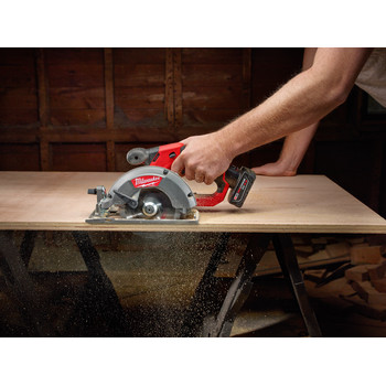Milwaukee 2530-20 M12 FUEL Lithium-Ion 5-3/8 in. Circular Saw (Tool Only) image number 4
