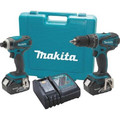 Factory Reconditioned Makita XT211-R LXT 18V 3.0 Ah Lithium-Ion 1/2 in. Hammer Drill and Impact Driver Combo Kit image number 0