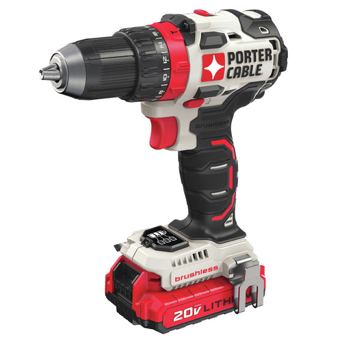 Factory Reconditioned Porter-Cable PCCK607LBR 20V MAX Brushless Lithium-Ion 1/2 in. Cordless Drill Driver Kit (1.5 Ah) image number 0