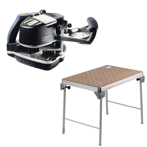 Festool KA 65 Conturo Edge Bander Set plus MFT/3 Basic  Multi-Function Work Table