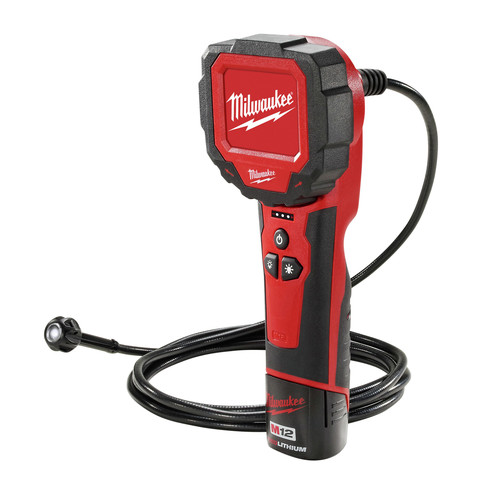 Milwaukee 2314-21 M12 Lithium-Ion M-SPECTOR 360 Rotating Digital Inspection Camera with 9 ft. Cable image number 0