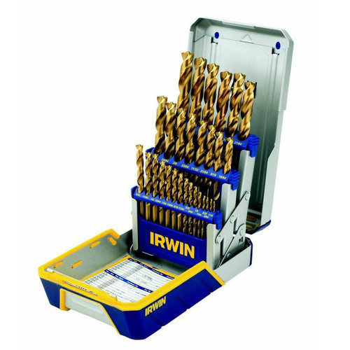 Irwin Hanson 3018011 29-Piece Metal Index Drill Bit Sets